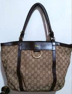 Clearance Sale! Vintage Medium Brown Gucci