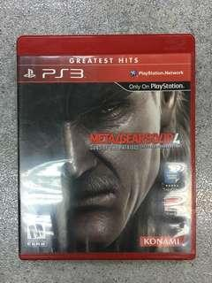 PS3 game Metal Gear Solid 4