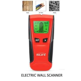 💯 Inlife TH210 Studs Finder Wood AC Wire Metal Detector Electric Wall Scanner