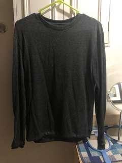 Zara Man Long Sleeve Shirt size small
