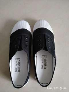 🚚 懶人帆布鞋36號