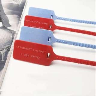 [INSTOCK] OFFWHITE OW ZIP TIE