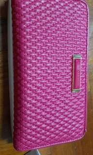 Charles & Keith Fuchsia pink wallet