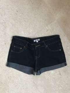 🚚 TEMT Dark Denim Shorts