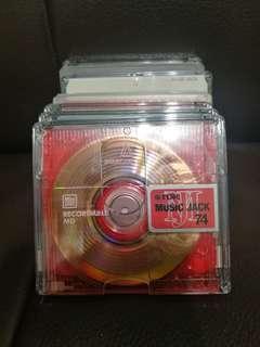 SONY & TDK mini disc