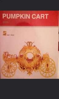 3D metal puzzle 南瓜車