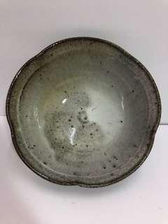 🚚 不規則邊柴燒造型陶碗碗