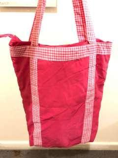 A beautiful pink bag