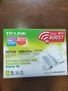 TP-Link Wifi powerline extender starter kit