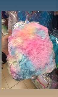 Begpack Unicorn Colorful Fur