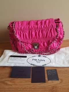 Authentic Prada Two Way Bag