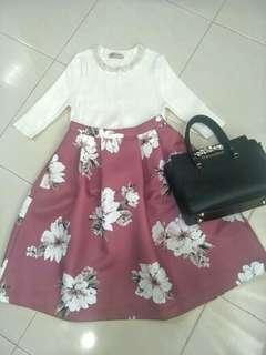 Japan Flora skirt