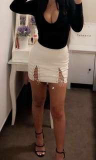 White Meshki Skirt