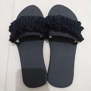 Flat Slop Sandal