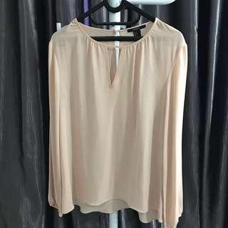 Blouse pink forever21