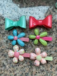 Assorted hair clips 髮夾