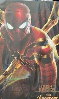 HotToys MMS482 Iron Spider 保養單
