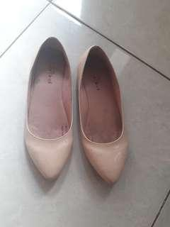 Flatshoes pink simple