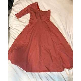 Vintage toga dress