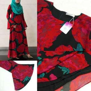 #GayaRaya (Raya Sales) Summer Rose Maxi Dress