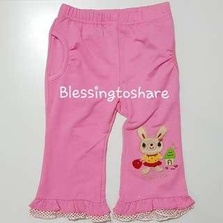 Giveaway Rabbit face back Baby Pants