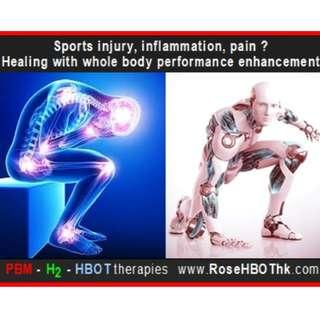 Sports injury therapy & performance enhancement