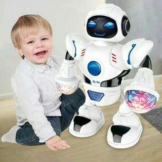 Mainan robot joget
