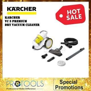 KARCHER VC3 PREMIUM DRY VACUUM CLEANER (CYCLONE)