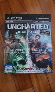 Ps3 Uncharted Dual Pack