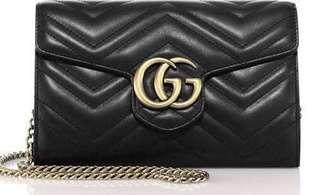 Authentic gucci marmont WOC