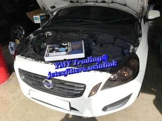 🚚 #jetexexhausts_volvo. #jetexexhaustsasialink. #jetexfilters_volvo. #jetexfiltersasialink. Volvo S60 T4 in the house and upgrade LTA approval Jetex exhaust system with Jetex Racing Performance drop in air filter with 1.14 kpa flow rate washable & reusable.
