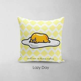 🚚 CUSTOM CUSHION COVER + MINKY gudetama