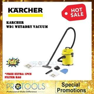 KACHER WET AND DRY VACUUM WD1 - 1 YEAR WARRANTY