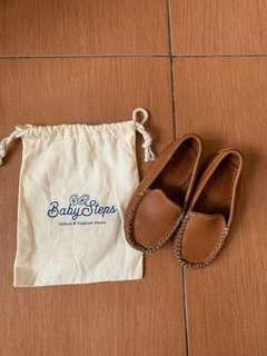 Shop Baby Steps Brown Loafers