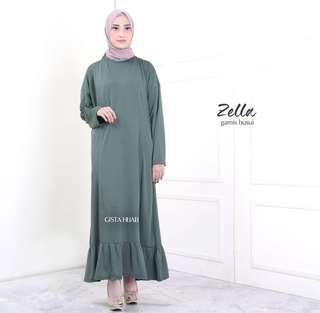 🚚 5 colors Jubah long dress (DRESS ONLY)