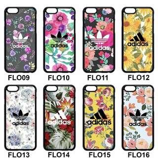 🚚 ▪️Floral themed Adidas Phone Case