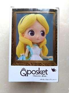 🚚 迪士尼 Q posket 愛麗絲 Alice 愛麗絲夢遊仙境 公仔 模型 Disney