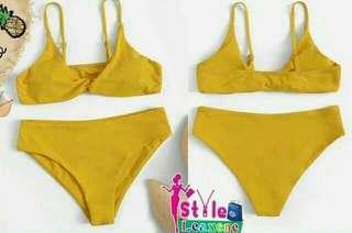 Vamp Twist Bikini Set