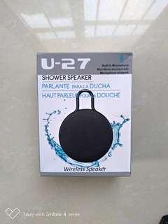 🚚 U-27 防水無線藍牙喇叭 (浴室也可用)