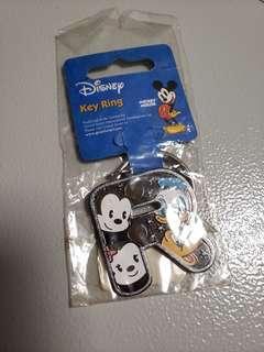 "Disney ""R"" letter keychain"