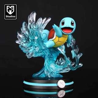Pokemon Resin Statue Squirtle Figure