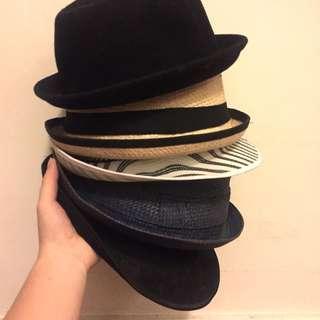 🎩 HATS SALE: Fedora / Porkpie / Panama