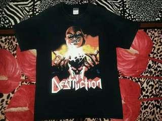 band tshirt Destruction