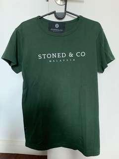 Stoned & Co green tee