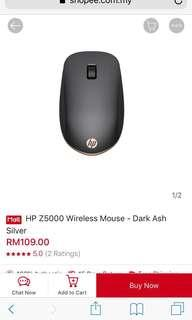 Authentic Sealed HP Bluetooth Mouse Z5000