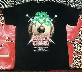 band tshirt FTG & NECROTIC CHAOS