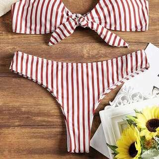 🚚 BN Striped Bikini Bottom