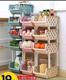 *代購*塑質置物籃,超實用,廚房廁所都可使用