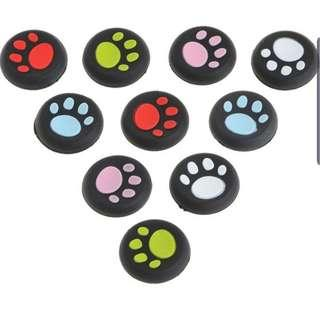 🚚 Paw Print Controller Thumbstick Silicone Cover