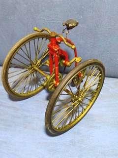 Vintage Die Cast Tricycle